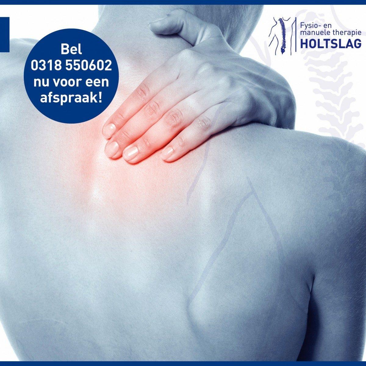 Fysiotherapie en manuele therapie bij nekklachten
